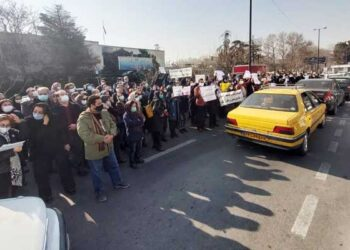 تجمع اعتراضی پزشکان درمانگر اعتیاد