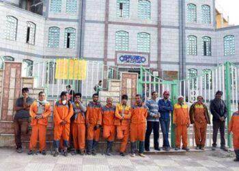 اخراج کارگران شهرداری یاسوج
