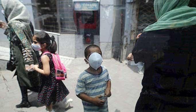 افزایش مرگ و میر کودکان زیر ده سال بر اثر کرونا در تهران