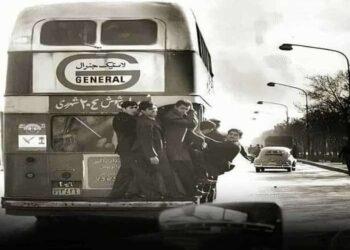 اتوبوس دو طبقه در تهران
