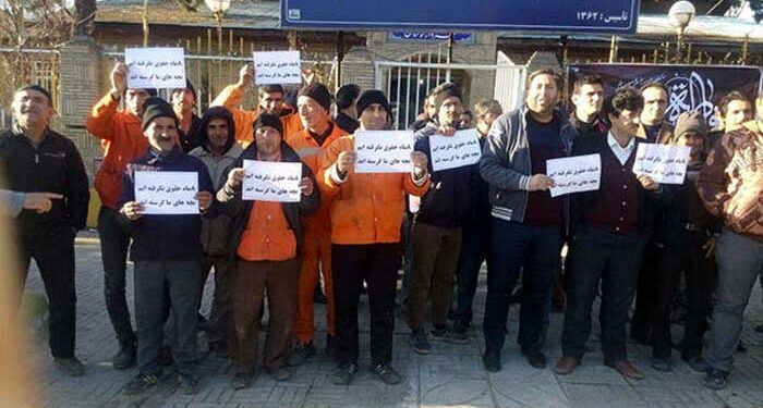 نگرانی کارگران شهرداری لوشان