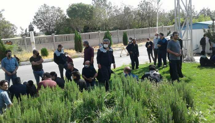 تجمع اعتراضی کارگران هپکو