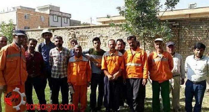 کارگران شهرداری سی سخت
