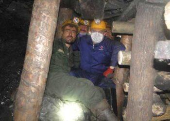 جان باختن کارگر معدن زغال سنگ هشتونی