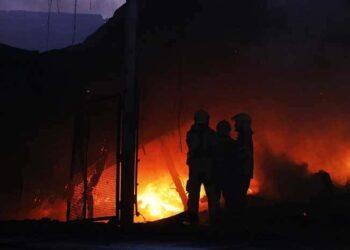 آتش سوزی در کوههای کردلان بوشهر