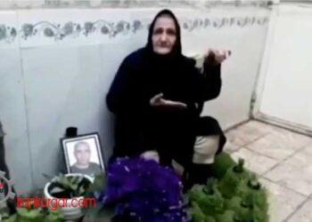 پیام نوروزی گوهر عشقی مادر ستار بهشتی
