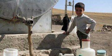 بحران آب در منطقه دهدز