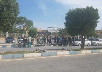تجمع کارگران شهرداری خرمشهر