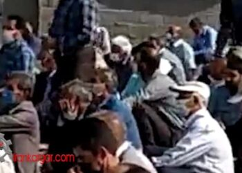 فیلم سخنرانی شجاعانه یک خانم کشاورز اصفهانی: