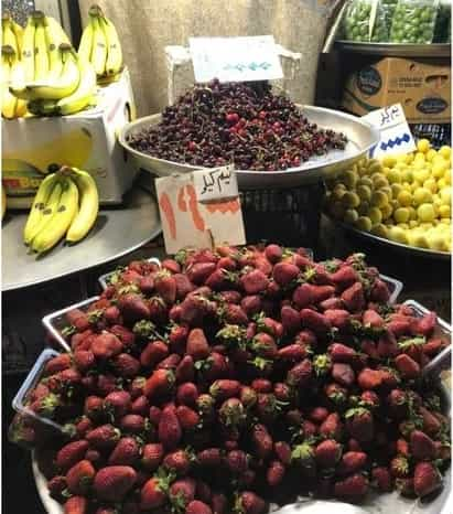 قیمت میوه های نوبرانه