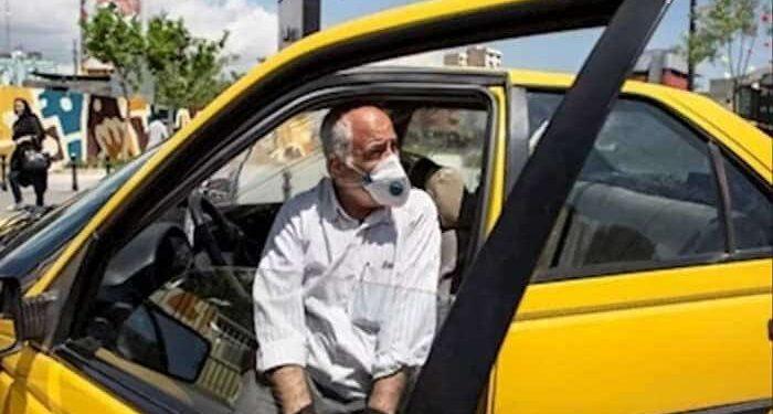 راننده تاکسی در تهران