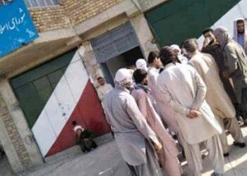 کارگران شهرداری سراوان
