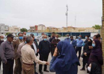 اعتراض کارگران قراردادی شهرداری قروه نسبت به عدم همسان سازی حقوق