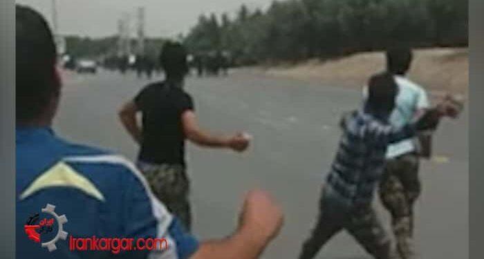درگیری کشاورزان شرق اصفهان