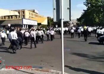 کارکنان خدمات فرودگاهی ایران ایر