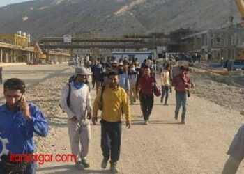 اعتصاب سراسری کمپین ۱۴۰۰ کارگران پالایشگاههای گاز و پتروشیمی و نیروگاهها