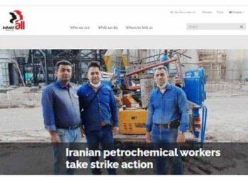 اعتصاب کارگران شرکت نفت