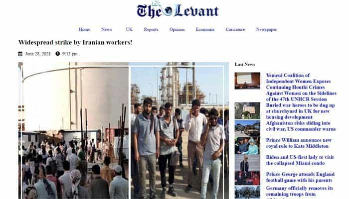 اعتصاب گسترده کارگران صنعت نفت