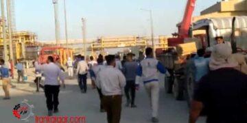 پیوستن کارگران پالایشگاهها در اصفهان و ماهشهر به اعتصاب سراسری نفتگران در کمپین ۱۴۰۰- فیلم