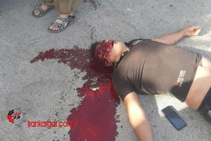 فیلم و عکسهای ادامه درگیری نیروهای انتظامی با مردم و قتل ۳ جوان توسط ماموران در یاسوج