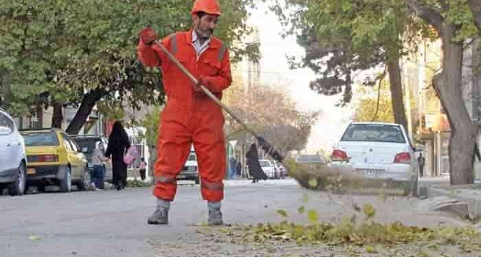 کارگران شهرداری نورآباد ممسنی