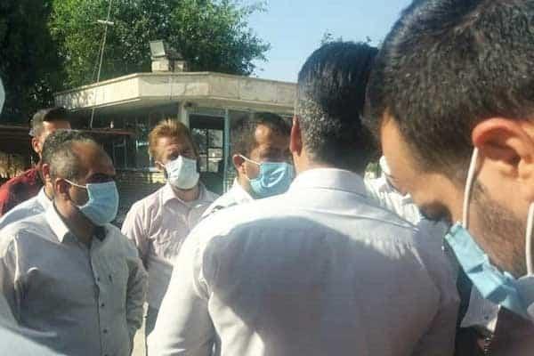 کارگران شرکت آبفا روستایی