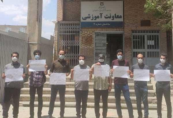 تجمع اعتراضی پزشکان و دانشجویان پزشکی