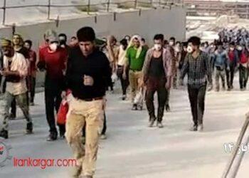 اعتصاب کارگران پروژه ای نفت و گاز