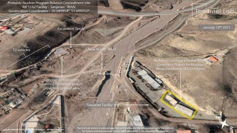 فیلم و تصاویر ماهوارهای جدید از تاسیسات هسته ای ایران به نام سنجریان توسط فاکس نیوز