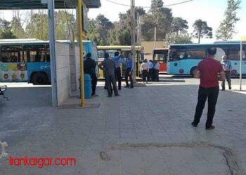 اعتصاب رانندگان اتوبوس شهری شیراز