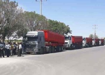 اعتصاب کامیونداران