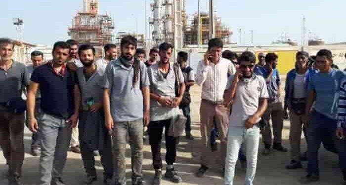 کارگران اعتصابی