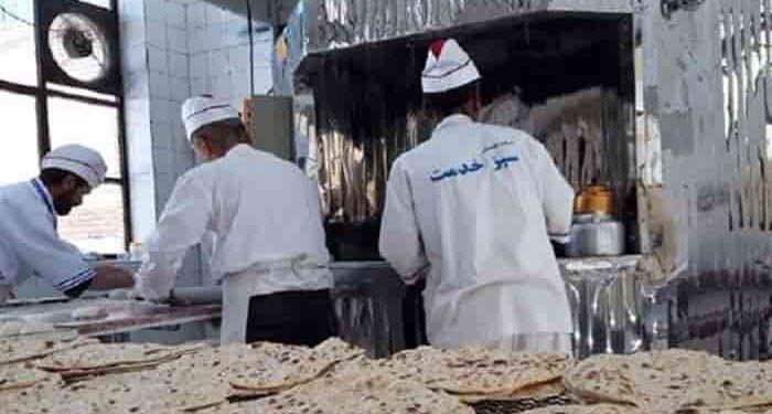 دستمزد کارگران نانوایی