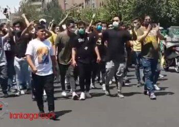 تظاهرات در تهران