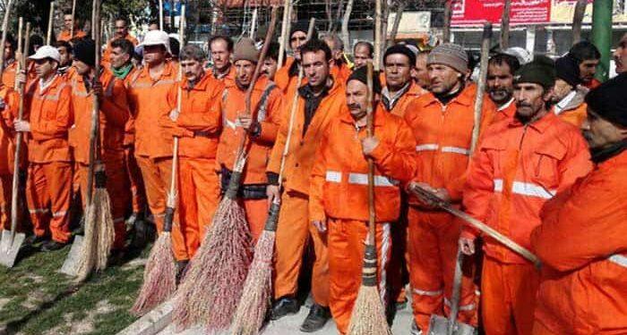 کارگران شهرداری رودبار زیتون