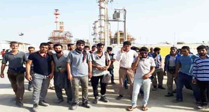 اعتصاب کارگران صنعت نفت
