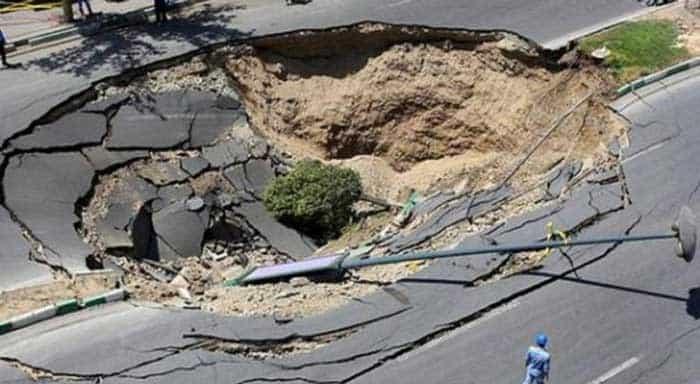 موسسه تحقیقاتی اینتل لب؛ فرونشست زمین در تهران یک بمب ساعتی بی صدا