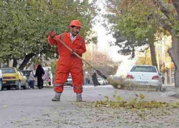 کارگران شهرداری میرجاوه