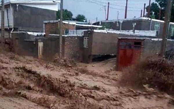 جاری شدن سیل شدید در شهرستان آوج استان قزوین با ۳ کشته و ۲ مفقود