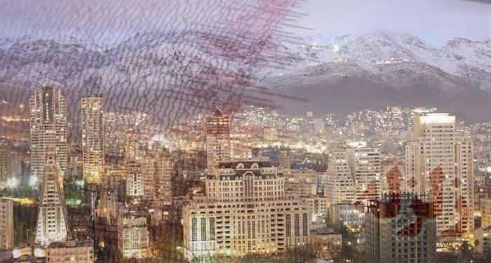 زلزله در تهران