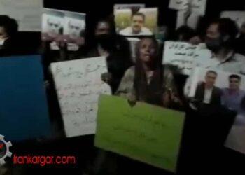 بازداشت شرکت کنندگان در تجمع برای حمایت از اعتراضات خوزستان در پارک ملت مشهد و پراکنده کردن آنان