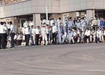 اعتصاب کارگران پالایشگاه فجر جم