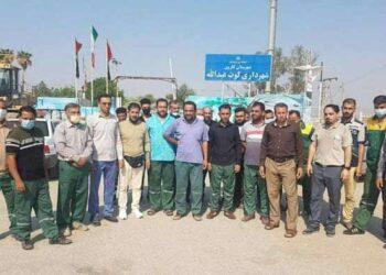 کارگران شهرداری کوت عبدالله