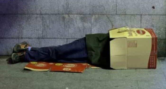 کارتن خوابی