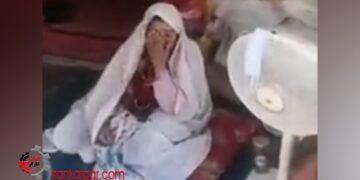 «خدا لعنت تان کند!» فیلم سخنان یک مادر که با پسرش ۳ماه است در خیابان و در چادر زندگی می کند