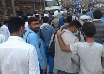 اعتصاب کارگران شرکت استیم پتروشیمی بوشهر